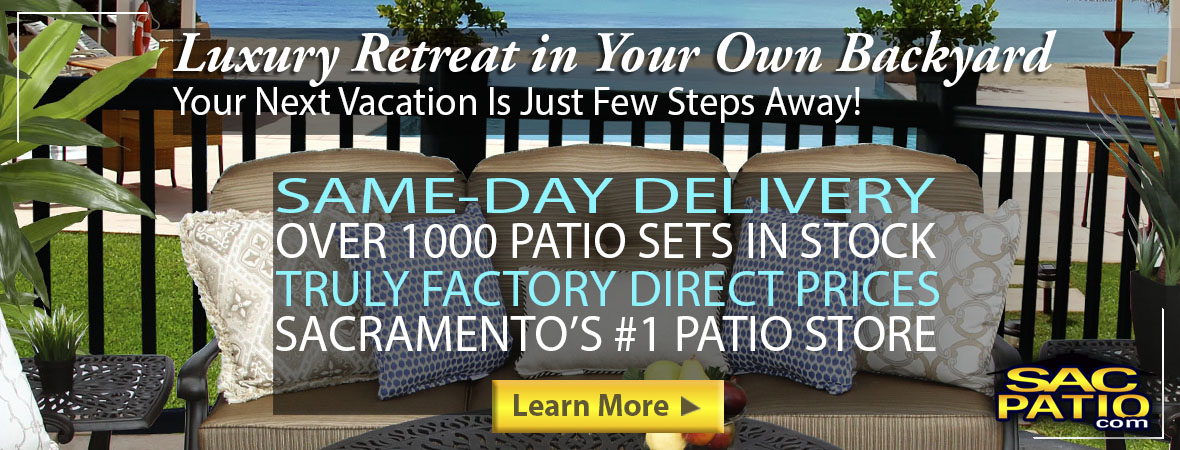 patio furniture Sacramento