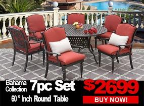 Bahama 7pc dining set